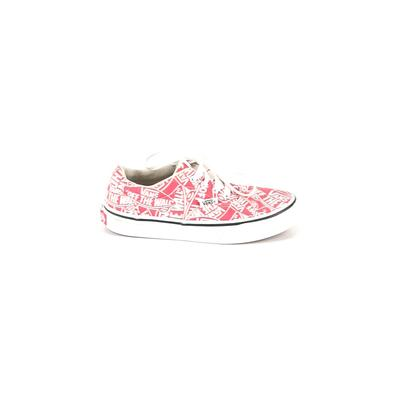 Vans Sneakers: Red Shoes - Size 2 1/2
