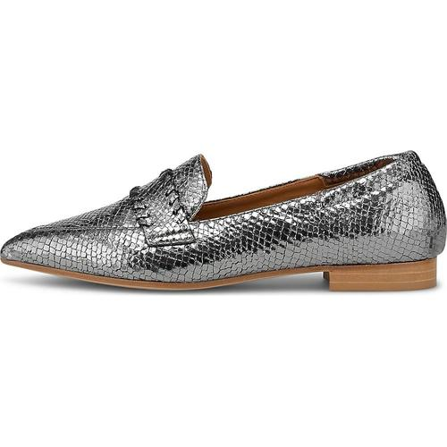 Thea Mika, Slipper in silber, Slipper für Damen Gr. 41