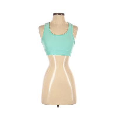 inLUV Sports Bra: Blue Solid Act...