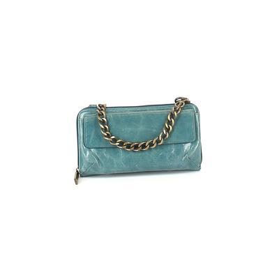 Hobo International - Hobo Bag International Leather Shoulder Bag: Blue Solid Bags