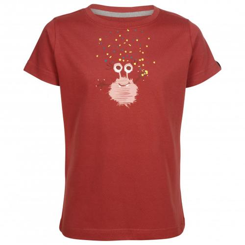 Elkline - Kid's Monsterchen - T-Shirt Gr 104/110 rot