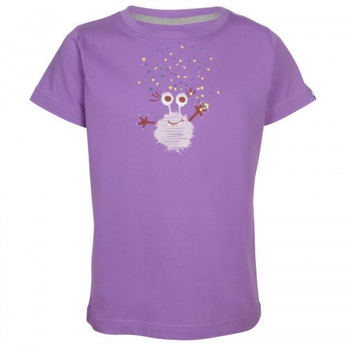 Elkline - Kid's Monsterchen - T-Shirt Gr 116/122 lila/rosa