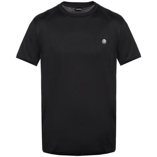 Balmain T-Shirt mit Aufnäher und Logo
