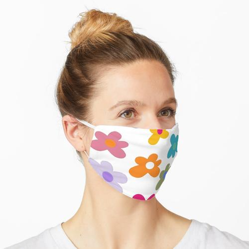 Golfblumen Maske