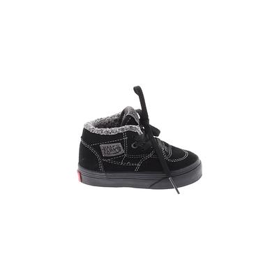 Vans Sneakers: Black Solid Shoes - Size 4