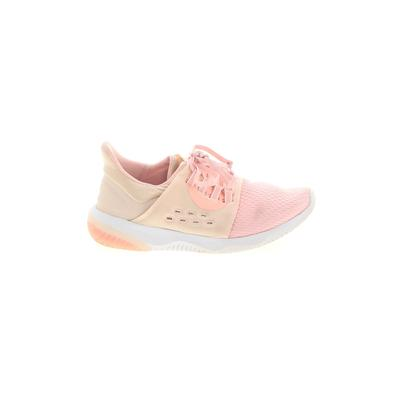 Asics Sneakers: Pink Solid Shoes - Size 8