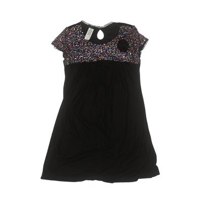 Holiday Editions Dress - A-Line: Black Solid Skirts & Dresses - Used - Size X-Large