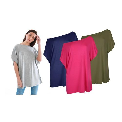 Oops Baggy-Top: Kirsche / Gr. L-XL