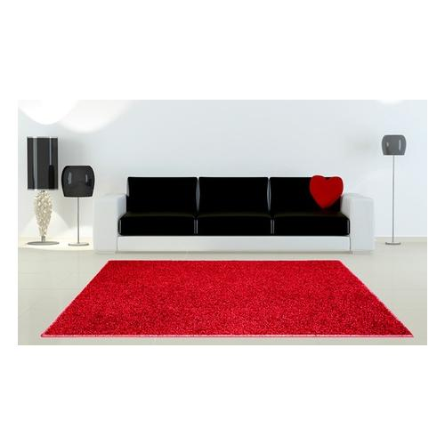 Teppich: Rot / 150 x 200 cm