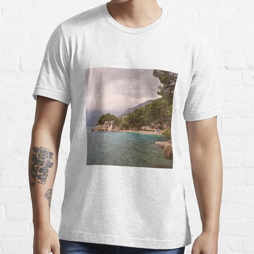 Strand an der Riviera von Makarska Essential T-Shirt