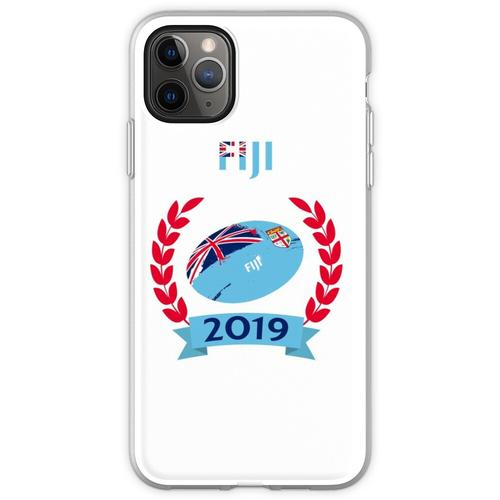 Cooles Fidschi Rugby Fan Shirt - Fidschi 2019 - RWC Fidschi 201 Flexible Hülle für iPhone 11 Pro Max