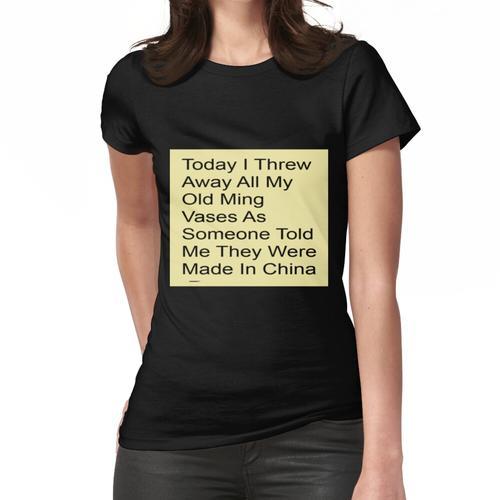 Alte MING-Vasen Frauen T-Shirt