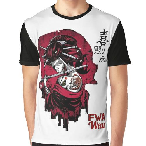 FWA Joy Teriyaki Grafik T-Shirt