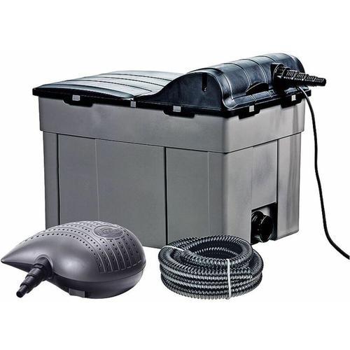 Heissner - Teichfilter-Komplett-Set mit Pumpe + UVC