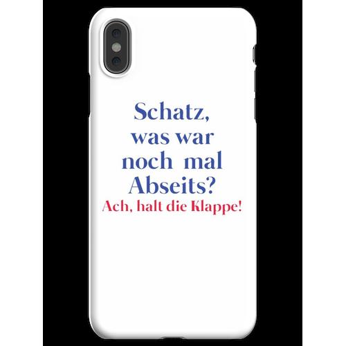 Frauen und Fussball Frauenfussball iPhone XS Max Handyhülle