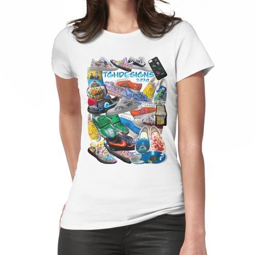 TGHdesigns 2020 Custom Sneaker Collage Frauen T-Shirt