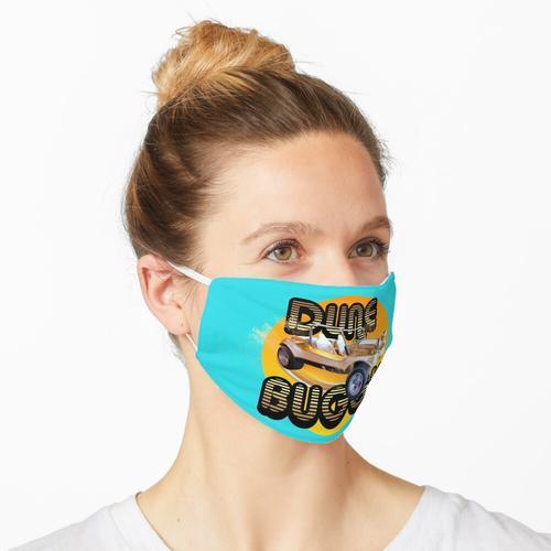 Vintage Dune Buggy Gold Sand Sonne Maske