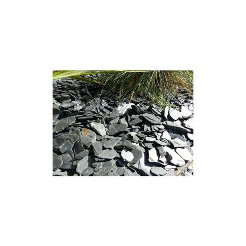 Classgarden - BLACK Slate Mulchkaliber 24-40 mm - Bulk Big Bag 17 m²