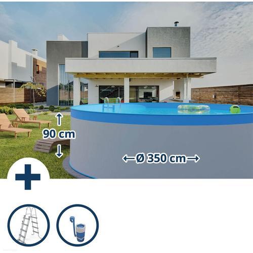 Rundform Aufstellbeckenset Arizona Ø350x90cm - Planet Pool
