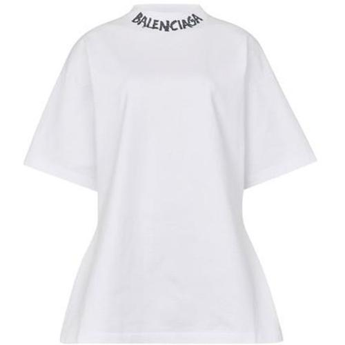 Balenciaga Weit geschnittenes T-Shirt