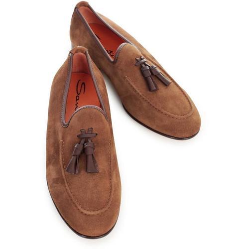 Santoni Loafers W/tassels