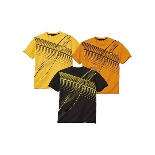 3er-Pack sportliche T-Shirts