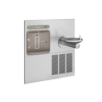 Elkay LZWS-ERPB8-RF Wall Mount Drinking Fountain w/ Bottle Filler - Refrigerated, Filtered