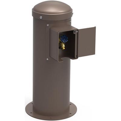 Elkay LK4461YHLHBBRN Outdoor Yard Hydrant w/ Locking Hose Bib - 10 1/2