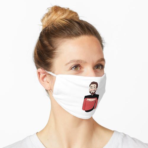 Zerrissenes Hemd Rikker Maske