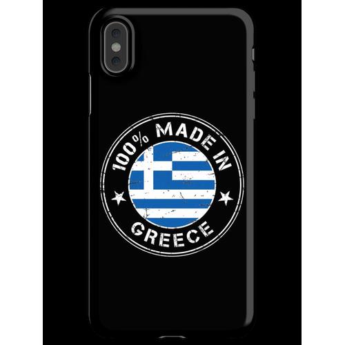 Griechenland griechisch Flagge Fahne iPhone XS Max Handyhülle