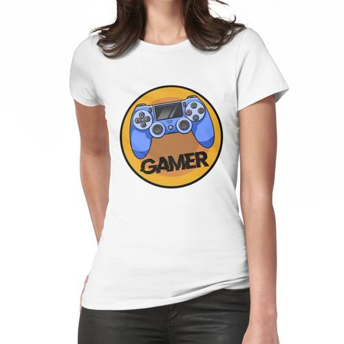 Gamer PS4 Controller Frauen T-Shirt