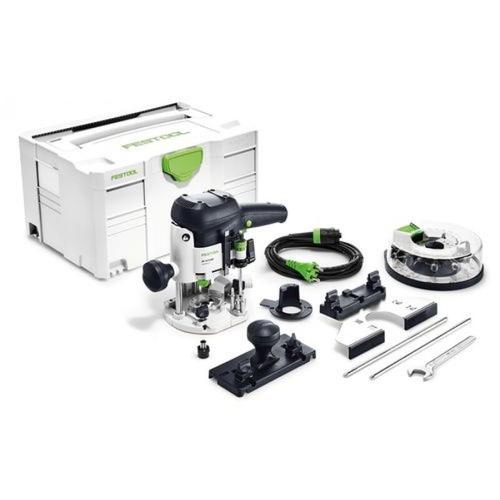 FESTOOL Oberfräse OF 1010 EBQ-Plus + Box-OF-S 8/10x HW, 576538 (neuer Systainer)
