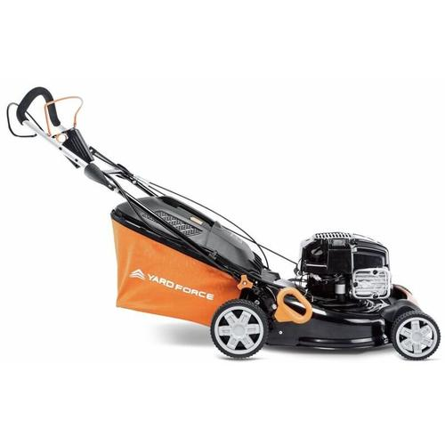Yard Force - Benzin Rasenmäher 2100 W mit E-Start | GM B46E