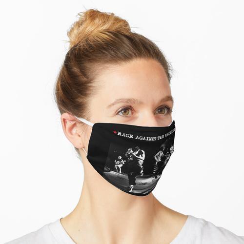 Wut gegen die Maschine - Mit dem Plastikganngster Maske