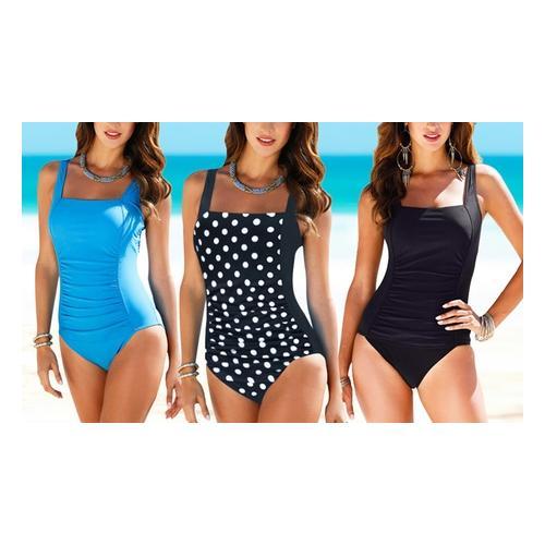 Damen-Badeanzug: Blau / Gr. 2XL
