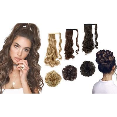 Hair Extensions: One-Bun/Black
