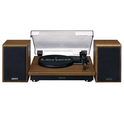 Platine vinyle LENCO LS-100WD avec haut-parleurs