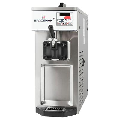 Spaceman 6210-C Soft Serve Ice Cream Machine w/ (1) 8 1/2 qt Flavor Hopper, 115v