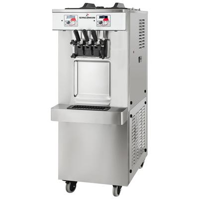 Spaceman 6250-C Soft Serve Ice Cream Machine w/ (2) 12 7/10 qt Flavor Hoppers, 208230v, 1ph