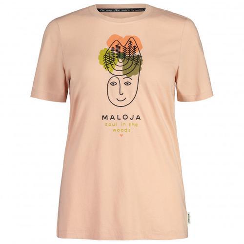 Maloja - Women's LöwenzahnM. - T-Shirt Gr L beige