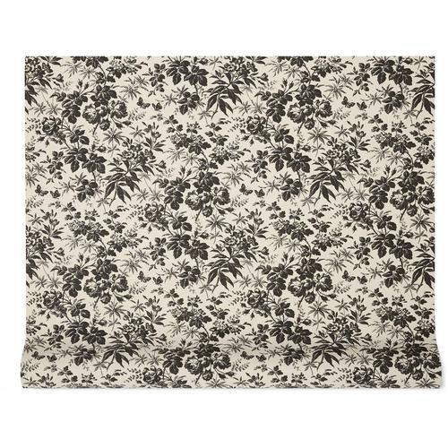 Gucci Tapete mit Herbarium-Print