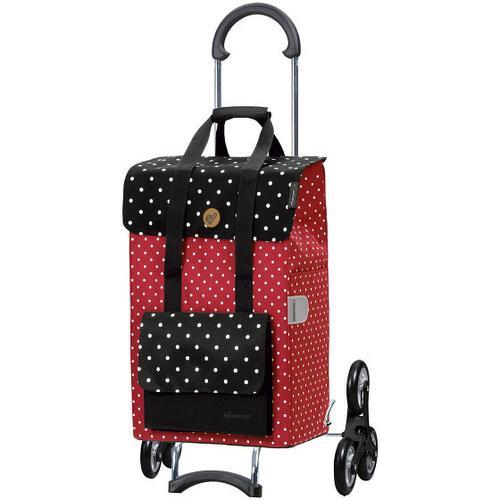 Andersen Shopper Treppensteiger Scala Shopper Rul Einkaufstrolley 59 cm rot