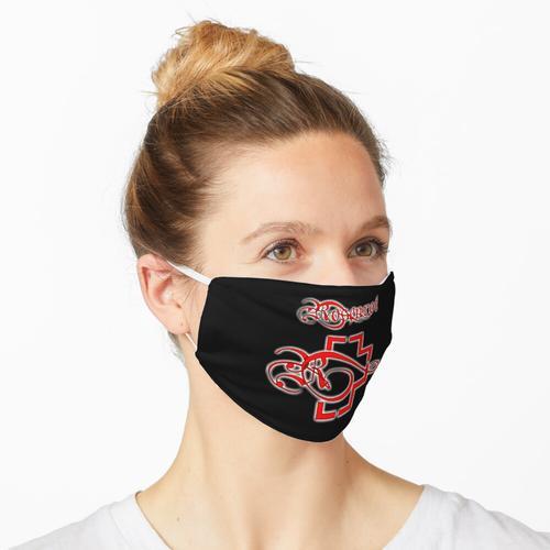 Rosenrot Design Maske