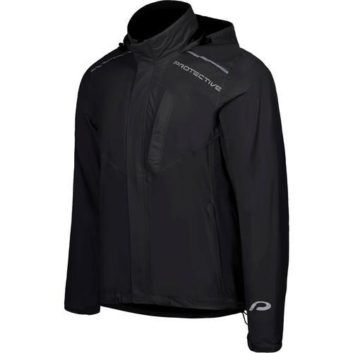 Protective P-RAIN II Regenjacke Herren in black, Größe M