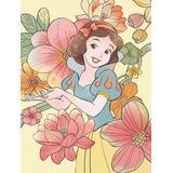 Komar Poster Snow White Flowers, Disney, Höhe: 50cm bunt Bilder Bilderrahmen Wohnaccessoires