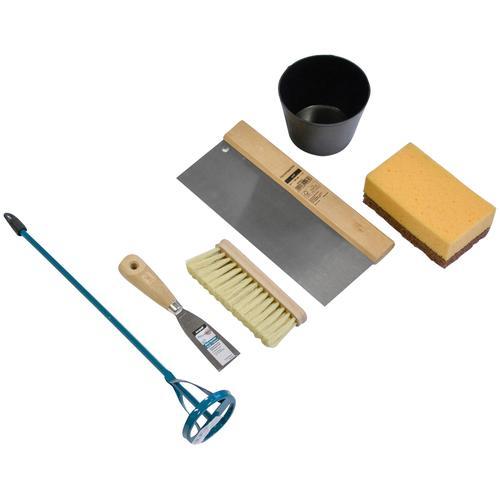 Friess Nespoli Werkzeugset Renovierungsset, (6 St.) beige Werkzeugkoffer Werkzeug Maschinen