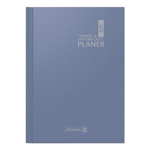 Lehrerkalender A4 blau, Brunnen