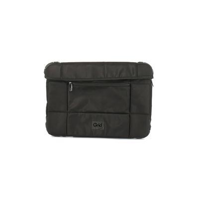 Grip Laptop Bag: Black Solid Bags