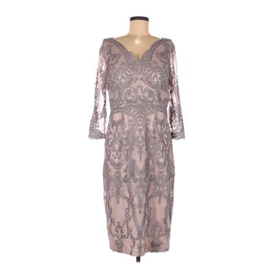 JS Collection Cocktail Dress - Sheath: Purple Dresses - Used - Size 8