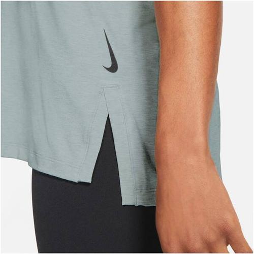 NIKE Herren Yoga T-Shirt Nike Yoga Dri-Fit, Größe XXL in Pink